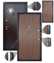 Входные металлические и межкомнатные двери из массива сосны оптом
