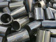 Трубы ПНД бу,  обрезки,  отходы труб ПНД  принимаем