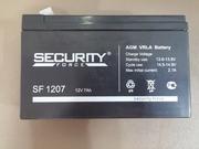 Аккумуляторные батареи Security Force SF 1207